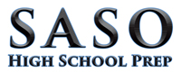 Saso High School Prep logo