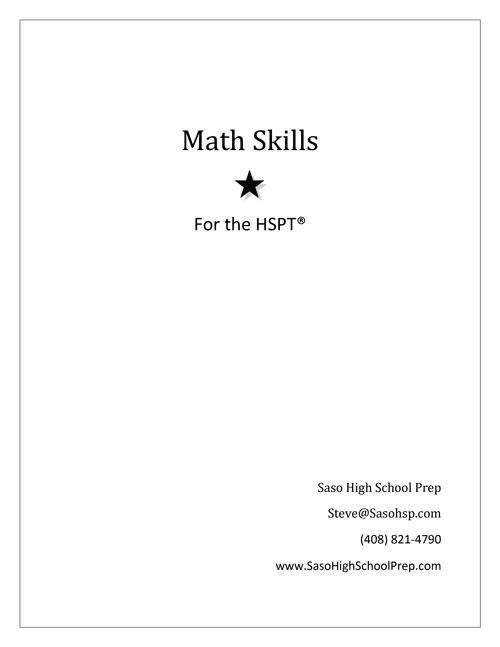 Math-Skills-workbook